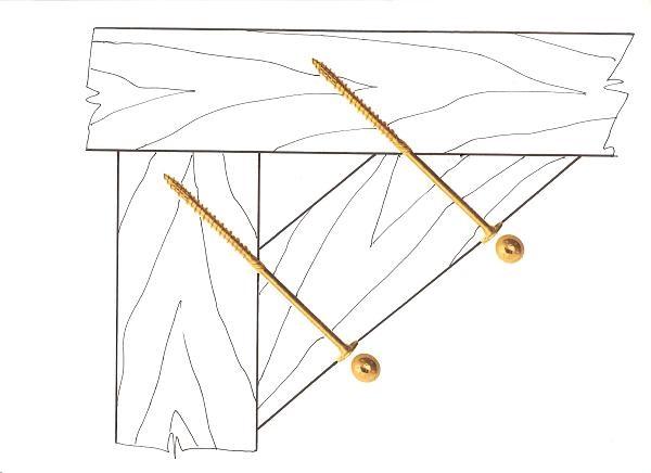 použití vrutu RAPID KOMPREX s velkou plochou hlavou